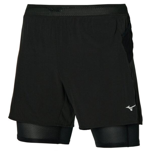 ER 5.5 2in1 Short / Black/Black / L